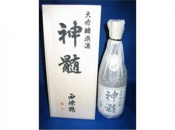 神髄 (西条鶴) 大吟醸原酒 720ml