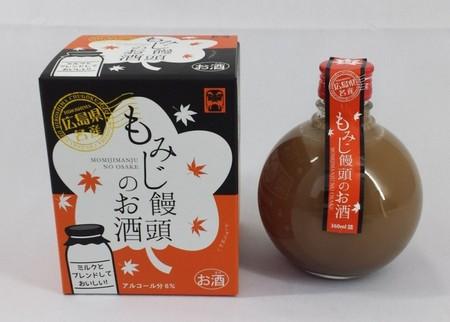もみじ饅頭のお酒   こしあん味 在庫切(9月入荷予定)