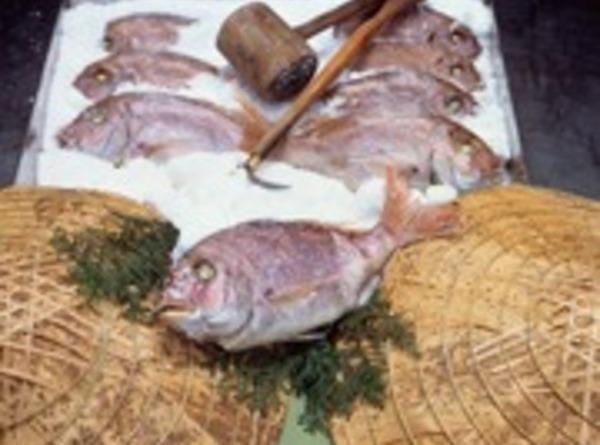 鯛の浜焼き 550g (約35cm) 産地直送送料込