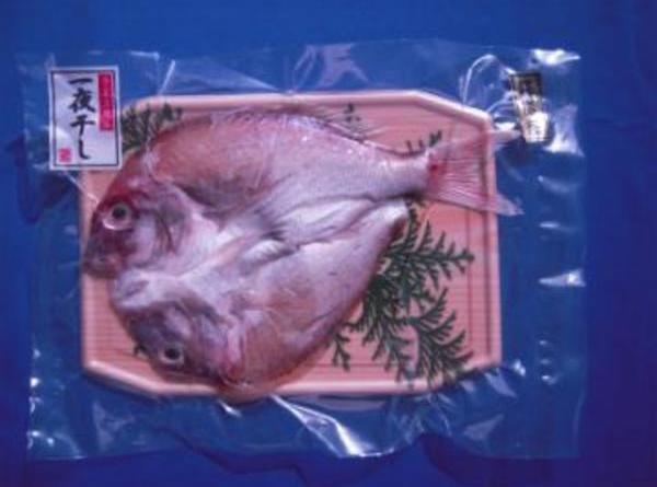 尾道産の新鮮活魚一夜干し(真鯛)