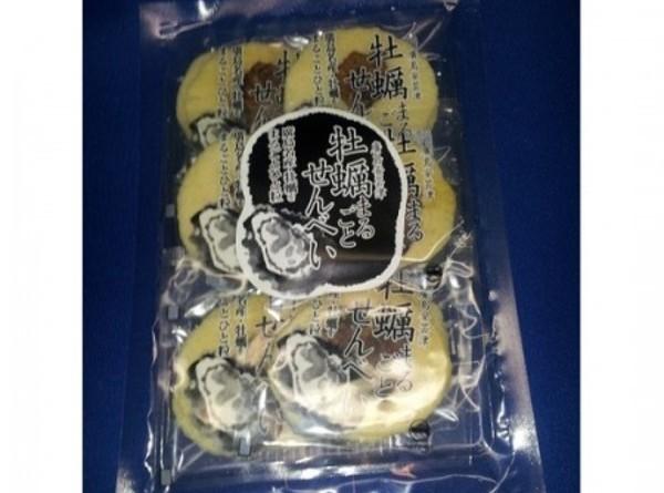牡蠣まるごとせんべい 袋